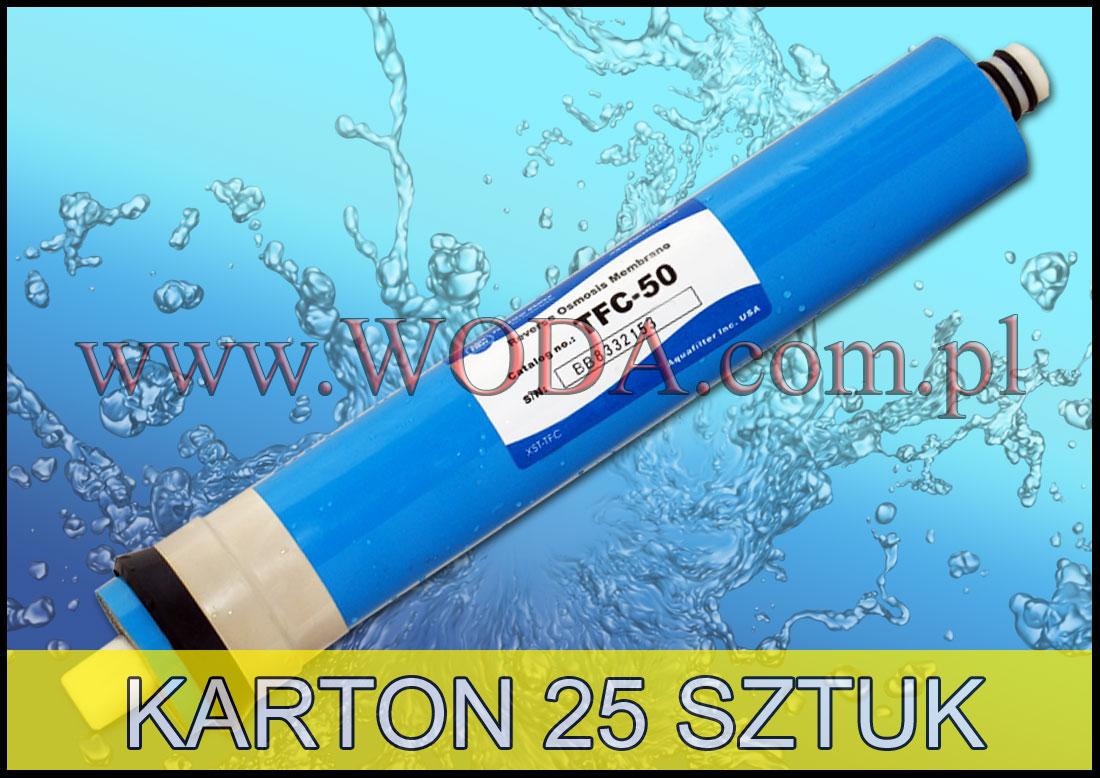 Tfc 50 membrana 50 gpd aquafilter usa 25 sztuk www - Membrana 50 gpd ...